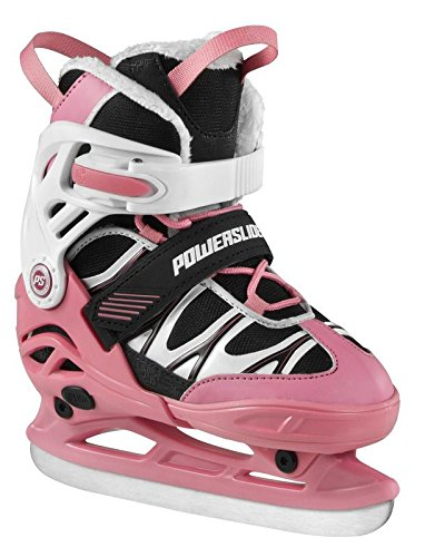 Powerslide Kinder PHU Orbit Girls, Adjustable Schlittschuhe, Pink, 27-30