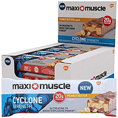 Maximuscle Cyclone High Protein and Creatine Bar
