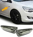 Carparts-Online 15705SET Klarglas Seitenblinker schwarz