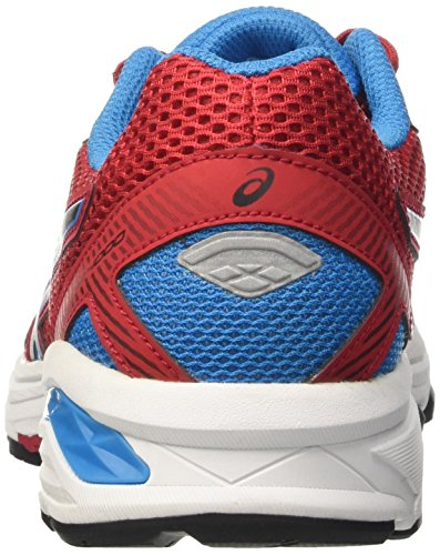 Asics  Gt-1000 5 Gs, Gymnastique  Unisexe - enfant Rosso (True Red/Black/Blue Jewel)
