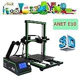 Impresora 3d, Anet E103d printer DIY upgradest High Precision Reprap Prusa Print Object Size: 220* 270* 300MM con LCD12864funciona con PLA ABS filamenten para DIY (verde)