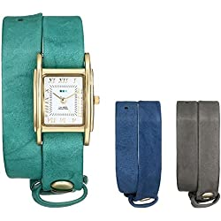La Mer Collections Damen LMGB1000 Gift Box Collection Grey Teal Royal Armbanduhr