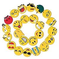 Fridge Magnets, Magnet Stickers whiteboard Magnets 24 packs Emoji Magnets for House Warming Gift Decoration Whiteboard Locker Cabinet Door