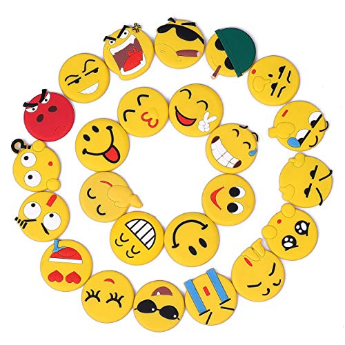 Kühlschrankmagnete, Emoji Magnet Set Haftmagnete für Haus Erwärmung Geschenk Dekoration Whiteboard Locker Schranktür (Locker Dekorationen)