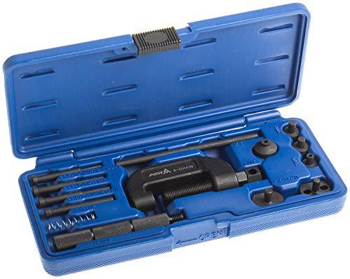 Satz A-Chain Kettentrenner und Nietwerkzeug für Motorradketten - Werkzeug zum Trennen und Vernieten von Ketten der Teilung 35 bis 630