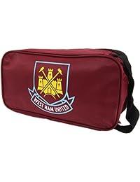 West Ham FC Official Foil Print Football Crest Shoe Boot Bag 96c397410ad5d