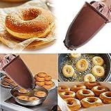 Hukz Donut Maker Maschine Form, Donuts und Cakepops Donut Muffin Cake Teigspender Pop Maker Küche DIY Werkzeug...