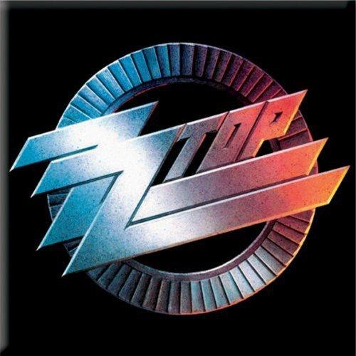 "'ZZ Top ""Circle Logo Fridge Frigorifero calamita 100% Original prodotti (licenza ufficiale"