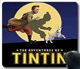 Adventures Of Tintin P41O2B Mouse Pad/tapis de souris,Beautiful Mouse Mat...