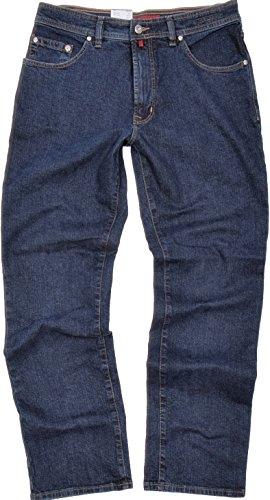 """Pierre Cardin Herren Stretch Jeans DIJON """"3231 161/02"""" Blue Black Comfort Fit (W42/L34)"""