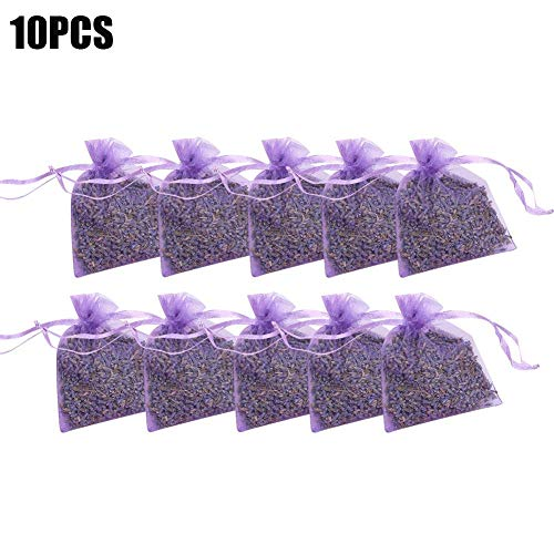 cosyhouse Lavendel Taschen Lavendel Beutel Lufterfrischer Beruhigender Schlaf Raumduft für duftende Schubladen, Schränke -