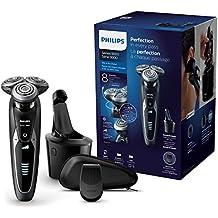 Philips S9531/26 Rasoir électrique Series 9000 avec Système SmartClean Plus et Tondeuse de Précision Clipsable