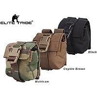 eLITe Airsoft Jagd Tactical LBT Stil MOLLE Single Frag Grenade Pouch