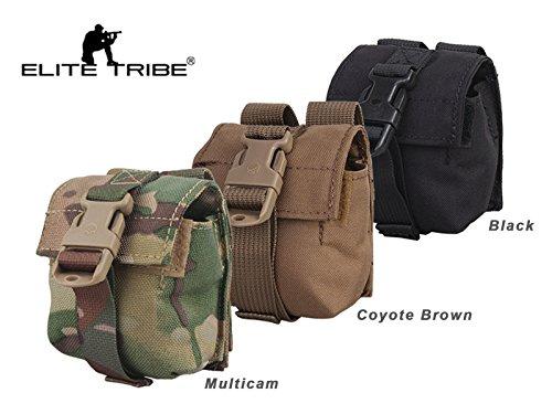 eLITe Airsoft Jagd Tactical LBT Stil MOLLE Single Frag Grenade Pouch, schwarz