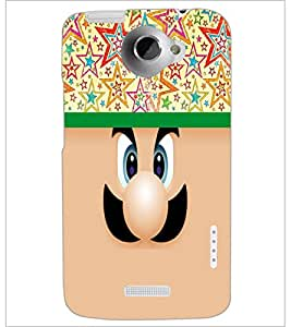 HTC ONE X SMILEY Designer Back Cover Case By PRINTSWAG