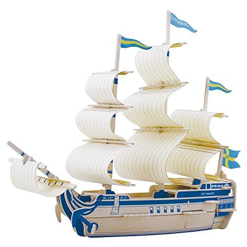 sterxy Robotime ba503s 3D Holz Puzzle Bausatz, DIY Schiff Modell Göteborg