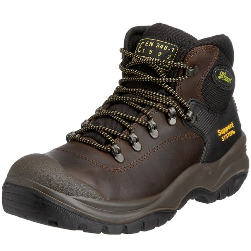 Grisport Men's Contractor S3 Safety Boots Brown 13 UK -