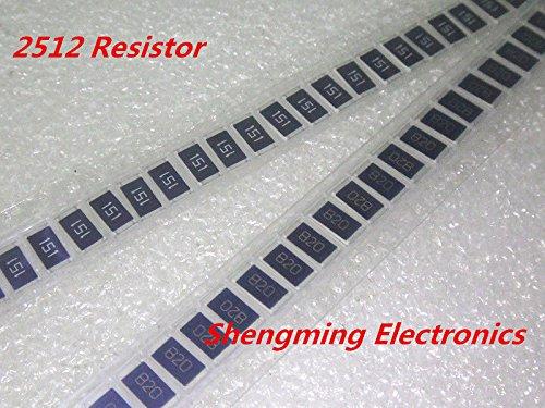 AST Works 100PCS 2512 (6432) 1W 220 Ohm 220R 221 5% SMD Resistors