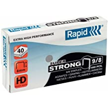 Rapid 24870900 - Grapas (9/8 mm, 5.000 unidades)