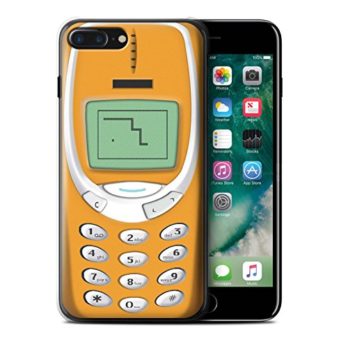 Coque de Stuff4 / Coque pour Apple iPhone 5C / Nokia 3310 bleu Design / Portables rétro Collection Nokia 3310 orange