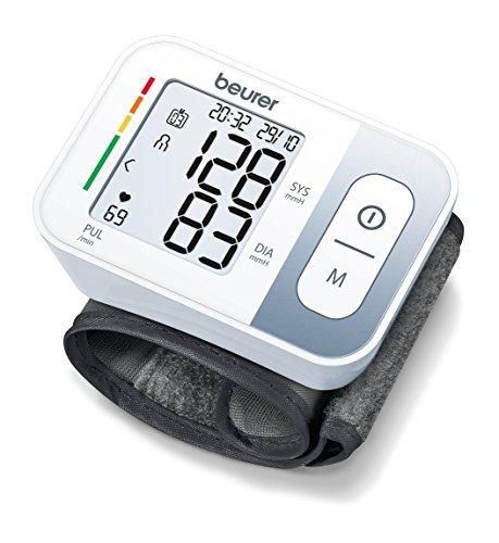 Beurer BC 28 Handgelenk-Blutdruckmessgerät (mit farbiger Einstufung der Messergebnisse)