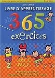 Mon grand livre d'apprentissage avec 365 exercices, 5-6 ans
