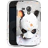 Samsung Galaxy S3 mini Hülle Premium Case Schutz Cover Cro Merchandise Fanartikel Panda Banda