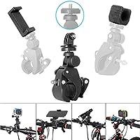 Fantaseal® Monti per Bicicletta di Gopro Rastrelliera per Biciclette Accessori Kit per GoPro Hero4 /3+/3/ Session Garmin Virb XE SJCAM SJ4000 SJ4000WIFI SJ5000 DBPOWER