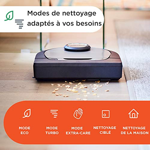 51ZSaVElVpL [Bon Plan Neato] Neato Robotics D701 Connected - Compatible avec Alexa - Robot aspirateur avec station de charge, Wi-Fi & App