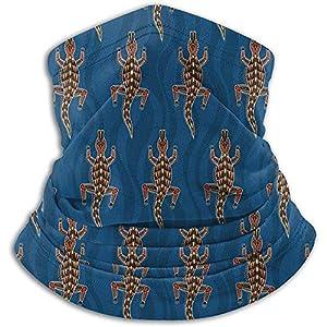 Merle House Nackenwärmer Gamasche Australian Crocodiles Soft Microfiber Headwear Face Scarf Mask Für den Winter Kaltes Wetter Warm halten