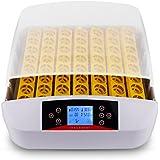 Sailnovo Couveuse Incubateur œufs Automatique 56 œufs Mire oeuf Intégré Intelligent Numérique Appareil d'Incubation Eclosion de Poussin Couveus 56 œufs