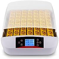 Sailnovo Incubadoras Automática Luz de Perspectiva LED Total de 56 Huevos,Incubación automática Inteligente de la rotación, embriones visuales del LED, índice de éxito de la eclosión del Aumento.