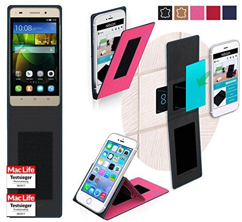 reboon Hülle für Huawei G Play Mini Tasche Cover Case Bumper | Pink | Testsieger