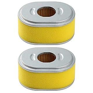 ANBOO Ersatz-Luftfilter für Honda 17210-ze1–82217210-ze1–50517210-ze1–82017210-ze1–517Rasenmäher Filter für Honda GX 140GX 160GX2005,56,5PS Filter Befestigung 2Stück Honda GX110