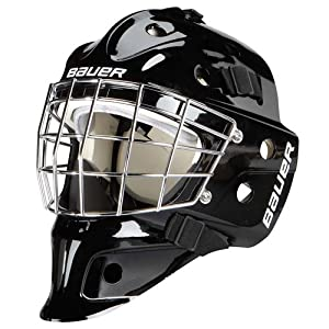 Bauer Eishockeymaske Goaliemaske NME 3 Youth Farbe:schwarz
