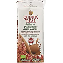 Quinua Real Bebidas de Arroz y Cacao - 24 Mini Botellas x 200 ml