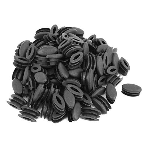 Stuhl-bein-stecker (sourcingmap 50 Stk Haus Büro Plastik Oval geformt Stuhl Bein Fuß Rohr fügt Schwarz)