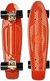 Ridge Skateboard Organics Range, Verbrannt Orange/Schwarz, 22 Zoll, R22-SILTK