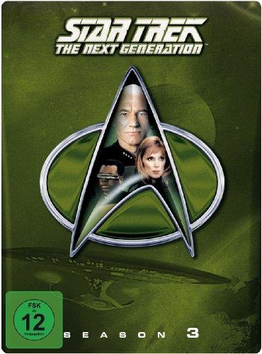 Star Trek: The Next Generation - Season 3 (Steelbook, exklusiv bei Amazon.de) [Blu-ray] [Limited Collector's Edition] [Limited Edition] (Star 4 Trek-staffel)