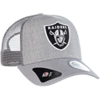 New Era Casquette ajustable Oakland Raiders Heather Team Graphite Football américain