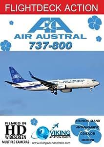 Flightdeck Action | Air Austral B737-800 | Cockpit Video | DVD