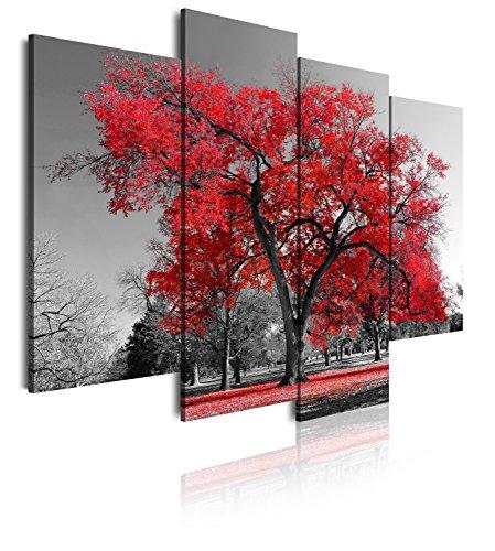 Dekoarte 41 - Cuadro moderno lienzo 4 piezas paisaje