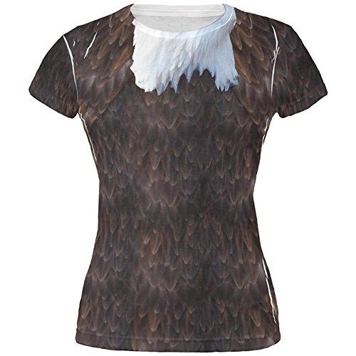 Halloween kahle Adler Kostüm Aller Junioren T Shirt Multi SM