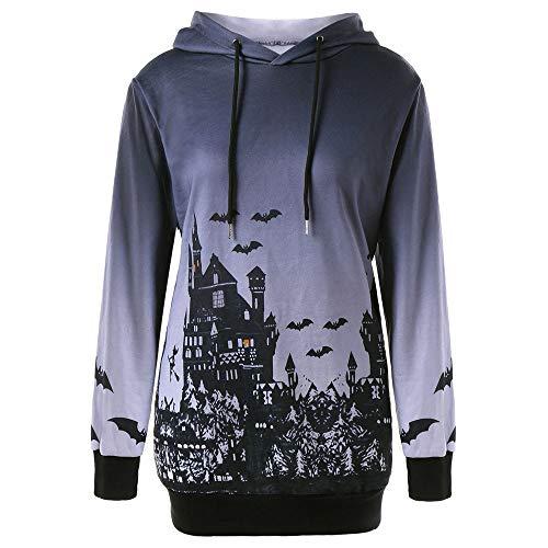 Die Antwoord Halloween Kostüm - MAYOGO Halloween Hoodie Damen Langarm Sweatshirt