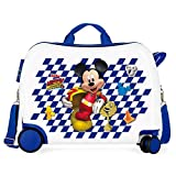 Maleta infantil 2 ruedas multidireccionales Mickey Good Mood