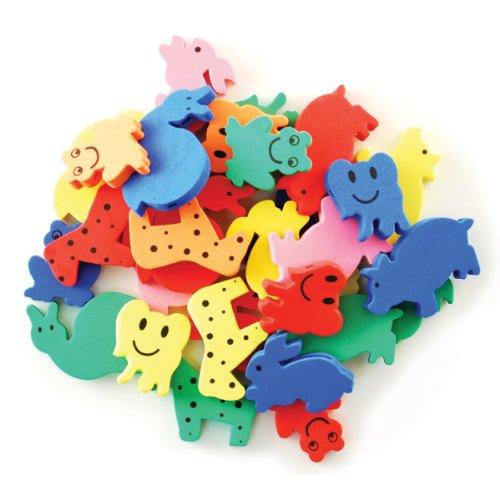 Krafty Kids: Fun Foam Assorted Animal Beads 6mm -Animal Pals