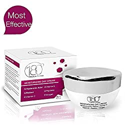180 Cosmetics Day Cream - Remove Wrinkles and Keep Your Skin Hydrated - Moisturizing Cream with Hyaluronic Acid Retinol Vitamin C + E - Anti Aging Face Cream - Dry Skin
