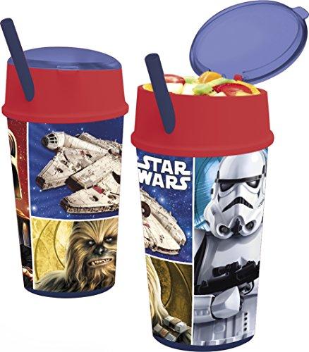 Verre Avec Paille Et Couvercle Anakin Skywalker Star Wars