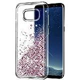 ☀☀☀ Custodia Wuloo Glitter Liquido Flowing Samsung Galaxy S8 con bella moda 3D Design creativo, regalo perfetto e molto divertimento per le famiglie e gli amici! Prendi questa sorpresa adesso! ☀☀    • Custodia di design Quicksand perfetta co...