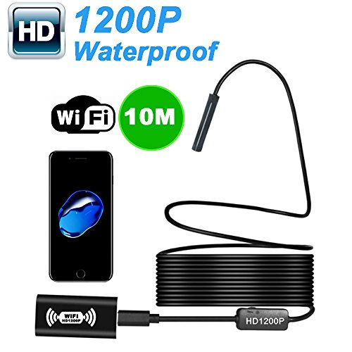 WIFI Endoskop Wireless Endoskop Inspektionskamera Für iOS Android 2.0 Megapixel 1200 P HD Flexible Kamera (3.5M)